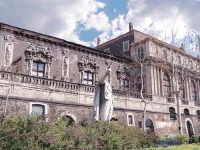 Architettura barocca(particolare del palazzo Biscari)  - Catania (6281 clic)