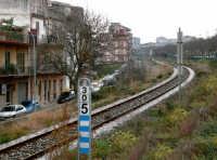 vista con panorama dal lato di via Colajanni  - Ragusa (1942 clic)