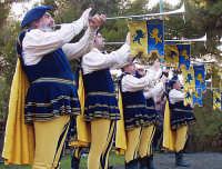 Festa del patrono 12 Aprile,durante lo svolgimento della giostra dei cavalieri.  - San gregorio di catania (3035 clic)