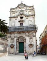 Passeggiando per la città.Piazza del duomo  - Siracusa (1626 clic)