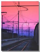 Tramonto dalla stazione  - Lentini (3963 clic)