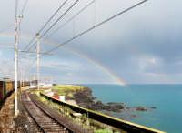 Arcobaleno sulla stazione  - Catania (2059 clic)