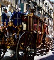 Festa di S.Agata.La carrozza del senato  - Catania (2813 clic)