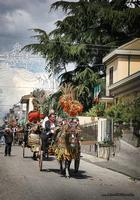 festa di Sant' Alfio sfilata carretti siciliani  - Trecastagni (3821 clic)