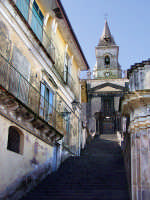 Chiesa Madre e scalinata  - Trecastagni (2191 clic)