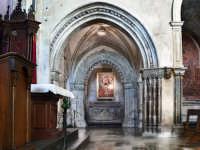 Interno chiesa S.M.Delle Scale.Altare minore RAGUSA Orazio Minnella