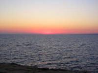 tramonto a Cava D'Aliga  - Scicli (2389 clic)