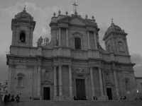 la cattedrale noticiana  - Noto (1973 clic)