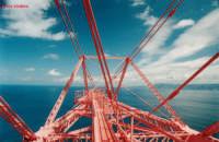 corno sud , del pilone di Torre Faro  altezza 200 metri  - Torre faro (9556 clic)
