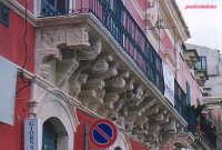 Palazzo Zocco , balcone  - Palazzolo acreide (2982 clic)