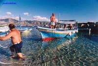 Attracco dei pescatori  - Torre faro (7432 clic)