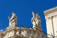 San Paolo  , particolare statue   - Palazzolo acreide (722 clic)