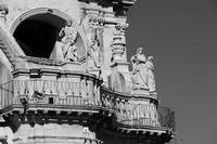 SAN PAOLO PARTICOLARE  DELLE STATUE IN BN   - Palazzolo acreide (754 clic)