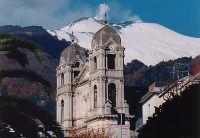 Zafferana in versione invernale  - Zafferana etnea (4003 clic)