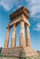 Tempio di Castore e Polluce  - Agrigento (2869 clic)