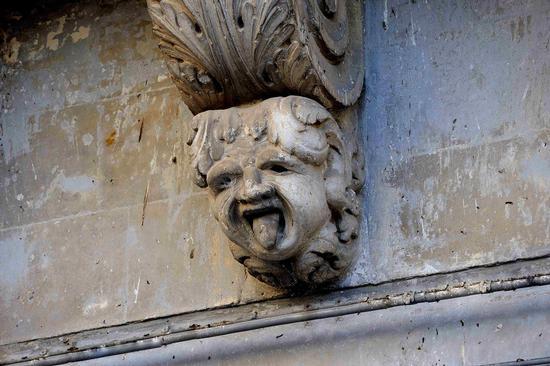 mascherone barocco - PALAZZOLO ACREIDE - inserita il 12-Jan-11