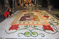 INFIORATA 2011 QUADRO VOTIVO IN FASE DI ULTIMAZIONE  - San pier niceto (5733 clic)
