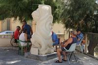 LA STATUA DI MARIA RANDO OMAGGIO AI PESCATORI CADUTI IN MARE  - Torre faro (5688 clic)