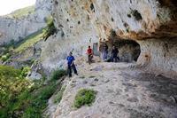 CAVA GRANDE DEL CASSIBILE UOMNII DELLE CAVERNE  - Avola (3732 clic)