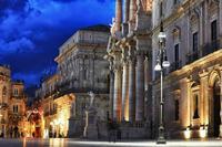 le bellezze di Ortigia  Piazza Duomo   - Siracusa (1700 clic)