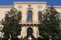 il Municipio a fine restauro   - Zafferana etnea (3917 clic)