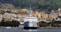 FERROVIE DELLO STATO . IGINIA ENTRATA IN PORTO A MESSINA  - Messina (4865 clic)