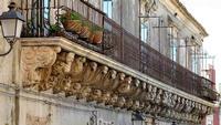 PALAZZO IUDICA OGGI CARUSO IL PIU LUNGO BALCONE BAROCCO DI SICILIA  - Palazzolo acreide (10408 clic)