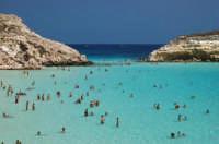 Splendido mare dell' isola dei conigli  - Lampedusa (10406 clic)