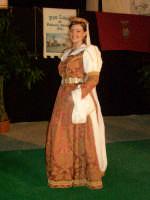 abito albanese di mezza festa della donna nubile di palazzo adriano indossato da federica pacino   - Palazzo adriano (3773 clic)