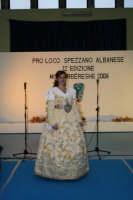 abito arbereshe del matrimonio di palazzo adriano indossato da Maria Spata miss sorriso 2008 a miss arbereshe 2008  - Palazzo adriano (3663 clic)