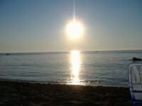 la fine della gionata ci regala un tramonto mozzafiato  - Capaci (4280 clic)