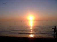 tramonto in barca  - Capaci (5408 clic)