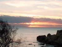 tramonto sulla scogliera del buco-marina di palma...foto rubino giuseppe  - Palma di montechiaro (2948 clic)