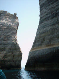 faraglioni...foto rubino giuseppe  - Lampedusa (2543 clic)