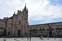 chiesa del Sacro Cuore e piazza     - Acireale (486 clic)