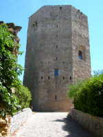 Torre ottagonale di Federico Barbarossa   - Enna (1926 clic)