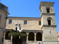 Chiesa di S.Tommaso con particolare della fontana  - Enna (1436 clic)
