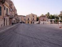 Largo in Ragusa Ibla   RAGUSA Rosario Colianni