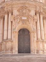 Portale del Duomo di San Giorgio    MODICA Rosario Colianni