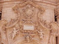 Particolare del Portale del Duomo di San Giorgio     - Modica (1774 clic)