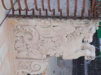 Balcone Barocco  Noto citta' del Barocco - Figura a sostegno di un balcone     - Noto (2835 clic)