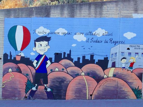 Murales - LEONFORTE - inserita il 27-Oct-14