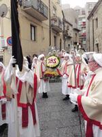 Settimana Santa Confraternita del Santissimo Sacramento   - Enna (1176 clic)