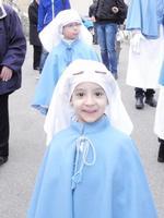 Settimana Santa piccolo confrate della  Donna Nuova  ENNA Rosario Colianni