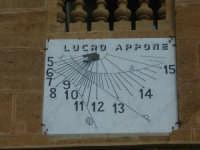 Orologio solare    - Casteldaccia (3214 clic)
