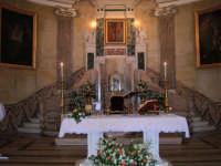 Altare e Quadro  Santuario della Madonna della Milicia -  Interno  - Altavilla milicia (3818 clic)