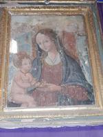 Madonna della Melagrana - Interno Duomo  ENNA Rosario Colianni