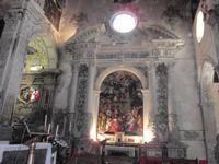 Madonna del Pilar - Interno Duomo Opera (del 1700) di Gugliemo Borremans ENNA Rosario Colianni