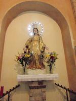 Madonna delle Grazie - Chiesa San Leone A te le nostre buone intenzioni malgrado i nostri difetti- Madre del Cielo prega per noi    - Enna (1227 clic)