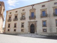 Palazzo Trigona  E' uno dei più autorevoli esempi di archietettura di stile barocco (1690 d.C)    - Piazza armerina (1300 clic)